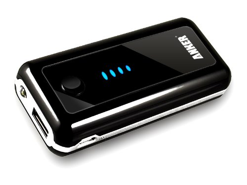 Anker® Astro 5600mAh Backup External Battery Pack Charger with built-in Flashlight for Apple: iPhone 5 4S 4G 3GS 3G, iPad, iPad 2, iPod; Most Android Phones: Motorola Triumph, Verizon Droid Razr, X2, Bionic / Samsung Galaxy S3 S III I9300, all Samsung Galaxy Series Smartphones / HTC One X, One S, Sensation G14, ThunderBolt / LG Optimus / Nokia N9 Lumia 900 800; GoPro - [18 Months Warranty]