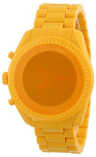 [オーディーエム]o.d.m 腕時計 カステルバジャックデザインモデル PHANTIME (ファンタイム) デジタル表示 5気圧防水 シャイニーイエロー JC06-4 メンズ 【正規輸入品】
