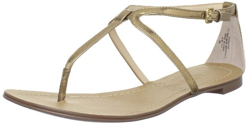 Boutique 9 Women's Paulyne Flat,Gold,7 M US