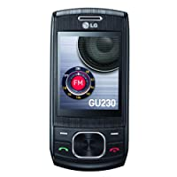 LG GU230 Dimsun - Unlocked Phone - US Warranty - Black