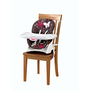 fisher price mocha butterfly booster seat high chair ebay