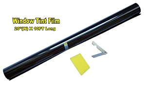 "20"" X 10FT ROLL 35% MEDIUM SHADE WINDOW TINTING FILM TINT UNCUT 20""x10' 35% from LEXEN"