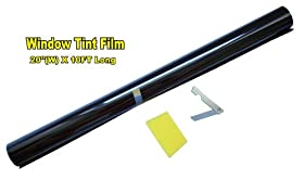 "20"" X 10FT ROLL 20% DARK SHADE WINDOW TINTING FILM TINT UNCUT 20""x10' 20%"