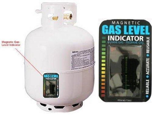 Magnetische Gas Füllstandsanzeige (Befestigung an der Seite des Butan Gas, Propan-Gas)