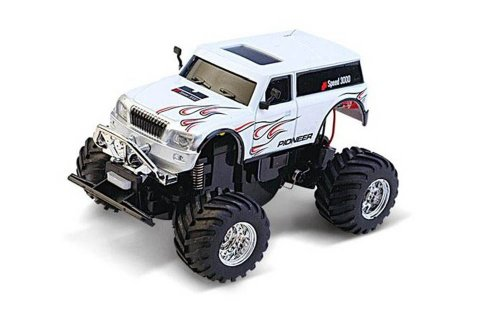 Mini Hummer Cross Country Electric Rc Remote Control Car Suvs 1:58 Rt@222Ch01W