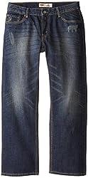 Levi's Big Boys' Husky 514 Straight Jean