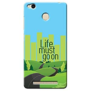 Kaira High Quality Printed Designer Back Case Cover For Xiaomi Redmi 3s/ Redmi 3/ Redmi 3S Prime(Lifemustgoon )