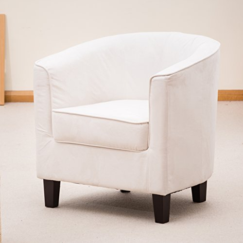 Sofa-Collection-Brand-New-Tub-ChairArmchair-Seating-Fabric-StoneWhite-66-x-69-x-71-cm