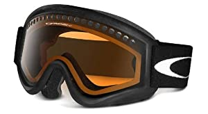 Oakley Unisex-Adult L Frame Snow Goggle(Black,Persimmon)