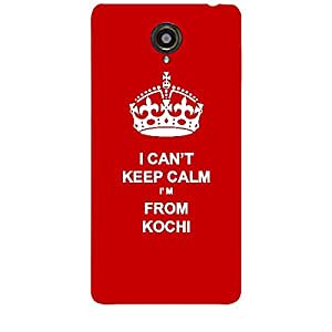Skin4gadgets I CAN'T KEEP CALM I'm FROM KOCHI - Colur - Red Phone Skin for HP SLATE 6 VOICE TAB