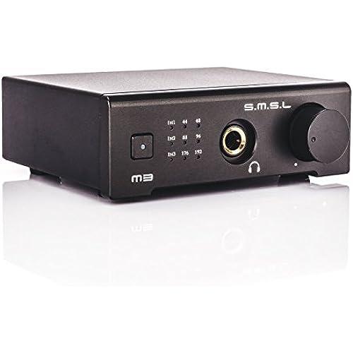 SMSL M3 HIFI 헤드폰 앰프 디지털 앰프 USB DAC 거치형 광섬유 동축-