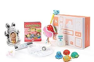 Canastilla - caja regalo bebe recien nacido niña por MasMimos, S.L en BebeHogar.com