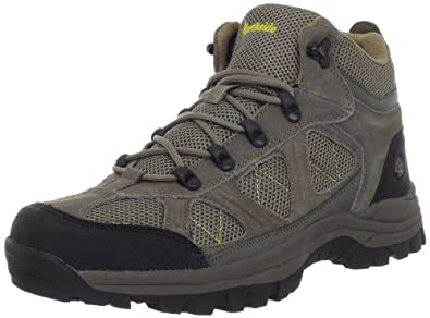 Northside Men's Caldera Hiking Boot,Stone/Yellow,9.5 M US