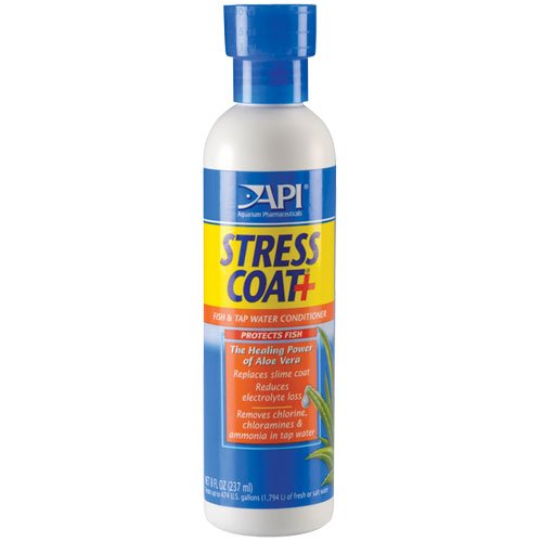 85C Stress Coat Fish and Tap Water Conditioner, 16 oz. Bottle