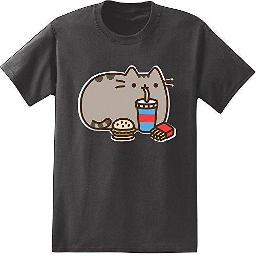 Pusheen The Cat & Fast Food T-shirt