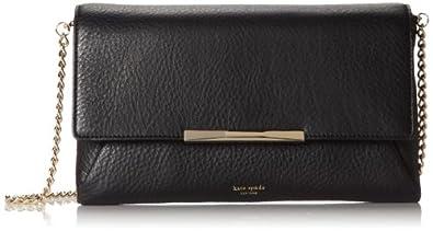 kate spade new york Astor Row Maisey Cross Body Bag,Black,One Size