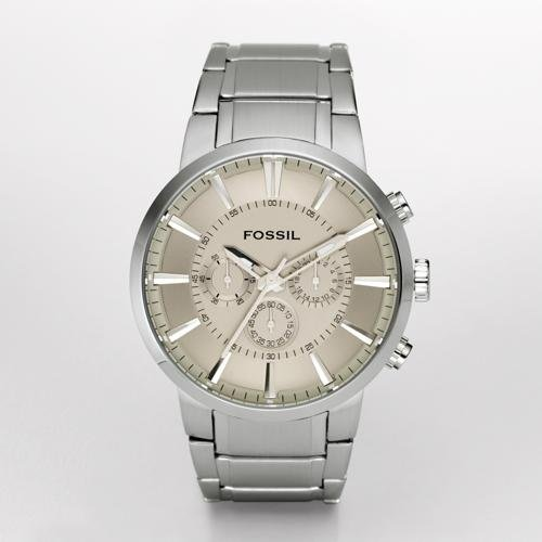Chronograph Silver Dial Watch