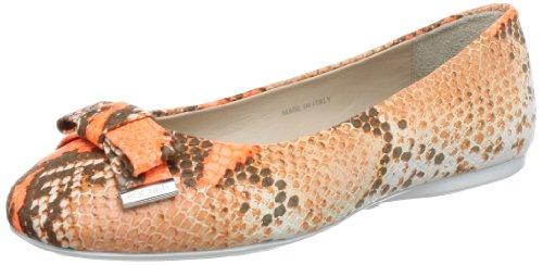 Bogner CAPRI 1-2 Ballet Flats Womens Orange Orange (Orange 37) Size: 7 (41 EU)