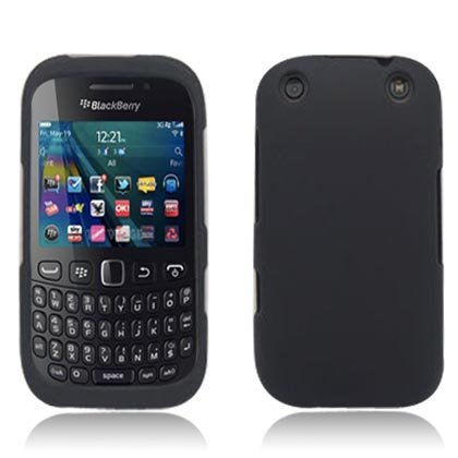 RIM Blackberry Curve 9310 / 9320 [Verizon Boost Mobile] Silicone Soft Skin Gel Case Cover (Black)