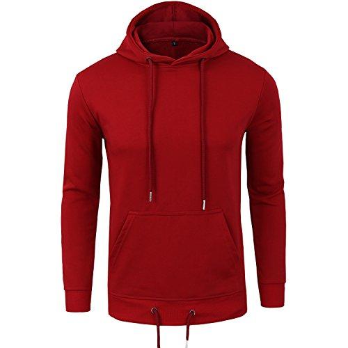 manwan-walk-mens-pullover-eco-cotton-fleece-hoodie-active-hoodies-w140-medium-red