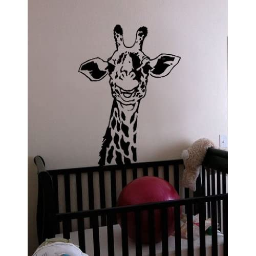 Stickerbrand Vinyl Wall Art Decal Sticker Safari Giraffe Neck 30x21 #145