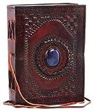 Medium God`s Eye Leather Blank Book