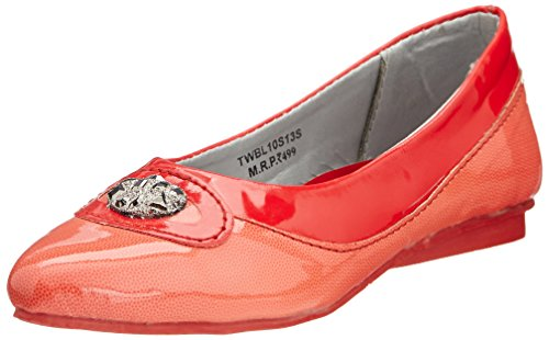 Tweety Tweety Girl's Espadrille Flats (Red)
