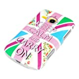 DeinPhone AR-720010 Samsung Galaxy Mini 2 S6500 Hard Case with Keep Calm and Carry On Coloured Design