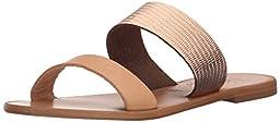 Joie Women\'s Sable Flat Sandal, Rose Gold, 38 EU/8 M US