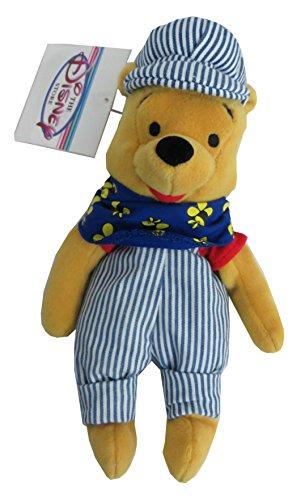 Winnie the Pooh Bean Bag Plush Choo Choo Pooh - 1