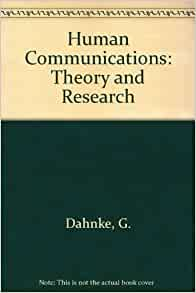human communication theory and research pdf