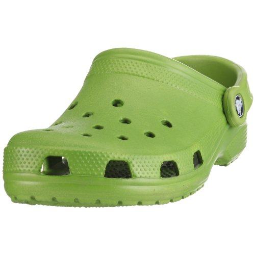 Crocs Classic Clog,Parrot Green,US 4 M