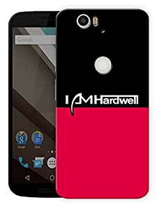 "I Am Hardwell Fan Art Printed Designer Mobile Back Cover For ""Google Nexus 6 Plus"" By Humor Gang (3D, Matte Finish, Premium Quality, Protective Snap On Slim Hard Phone Case, Multi Color)"