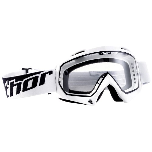 2601-0708 - Thor Enemy Solid Motocross Goggles White