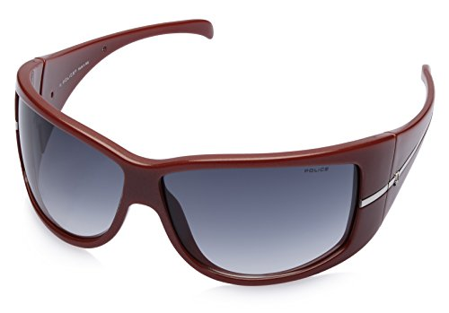 Police Police Rectangular Sunglasses (Maroon) (S1586|07FM|Free Size)