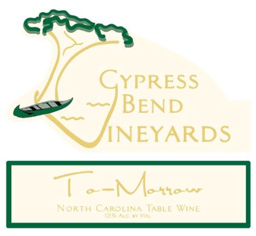 Nv Cypress Bend Vineyards To-Morrow North Carolina White Table Wine 750 Ml