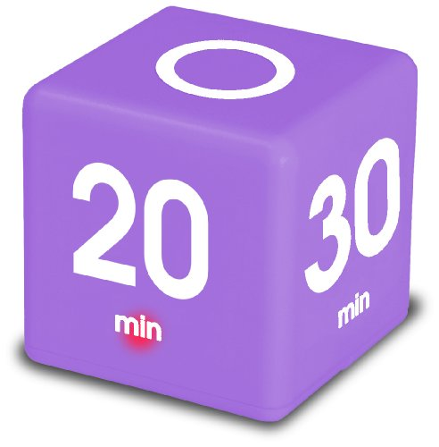 Datexx The Miracle Cube Timer, Purple