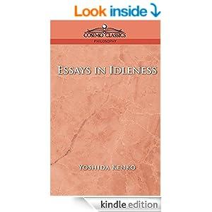yoshida kenko documents throughout idleness