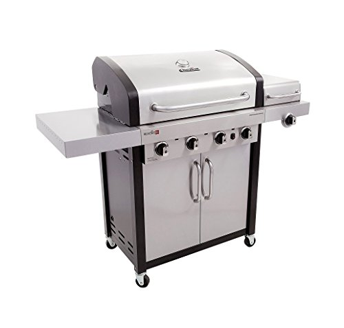 Char-Broil Professional TRU Infrared 4-Burner Cabinet Gas Grill (Gas Grill Side Burner compare prices)