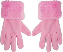 True Gear Women's Cold Weather Fashion Winter Gloves (Pink)