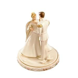 Disney Cinderella Figure Lennox Prince Wedding Day Cake Topper Lenox Disney 6148324 Amazonco