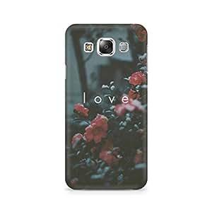 Ebby Faded Love Premium Printed Case For Samsung E5