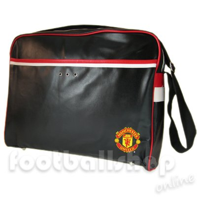 Official Licensed Retro Manchester United Laptop messenger Bag for 17