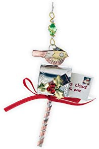 Pilgrim Imports Letter to Santa Metal Fair Trade Ornament