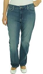 NYDJ Women's Marilyn Straight Leg Jean