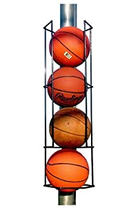 Buy Basketball Butler Deluxe 4 Ball Storage Rack by Blue Collar Industries