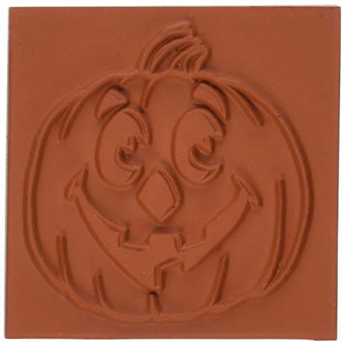 Deep Red Stamps Jack O Lantern Rubber Stamp - 1