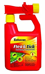 Enforcer Flea and Tick Spray for Yards, 32-Ounce