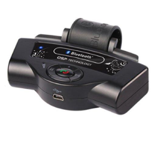 Generic Steering Wheel Car Bluetooth Kit Car Handsfree Color Black
