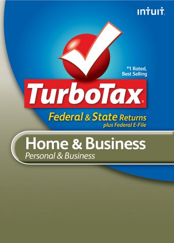 TurboTax Home & Business Federal + e-File + State 2010 [Download]